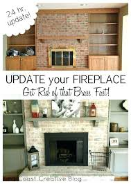 outstanding painting fireplace ideas