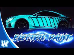 lumilor electric paint that lights up