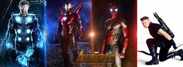 avengers infinity war iron man thor