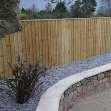 Feather Edge Boards Garden Fencing Devon And Cornwall