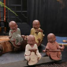 Monk Figurines Home Decoration For Kids Room Living Room Housewarming Gift Ebay