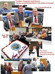 Events, Center for Kansas Studies, Washburn University