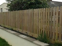 30 Pack 1500mm 5ft Round Top Picket Garden Fence Panels Wood Pales Garden Fence Panels Wood Picket Fence Fence Panels
