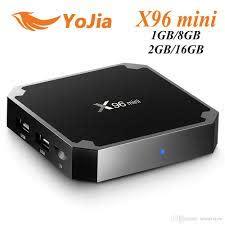 EU Tax Free X96 Mini Android 7.1 TV BOX 1GB8GB 2GB16GB Amlogic S905W Quad  Core Smart TV Box X96mini Net Tv Box Tv Box Internet From Smartview,  $19.21