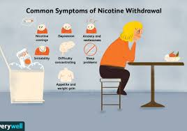 nicotine withdrawal symptoms timeline