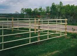 Pipe Fence For A Decorative Continuous Fence