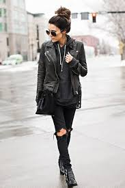 wear your black leather jacket