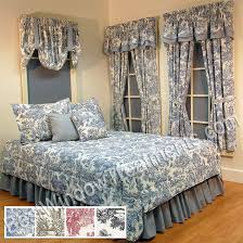 victorian toile comforter