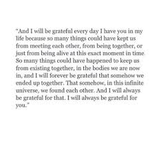 i will always be grateful for you grateful quotes boyfriend
