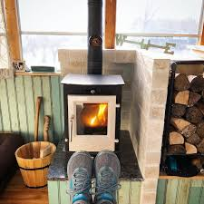 comparing wood and propane heat tiny