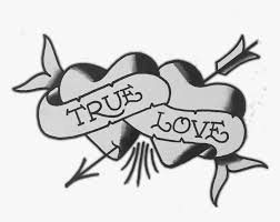 true love tattoo png png