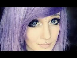 dark makeup tutorial for blue eyes