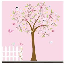 So Cute For A Little Girls Room Nursery Wall Decals Tree Vinyl Wall Decals Nursery Tree Wall Decal