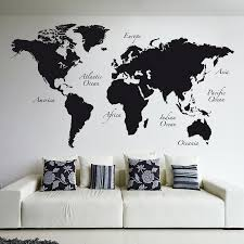 World Menagerie World Map Wall Decal Reviews Wayfair