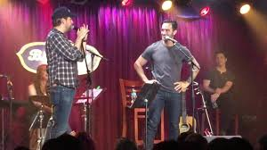 "Ramin Karimloo @ B.B. King NYC ""Lily's Eyes"" with Andrew Kober ..."