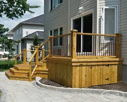 cedar sun deck wood s