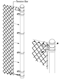 Galvanized Steel Chain Link Security Fences For Airport And Power Plants