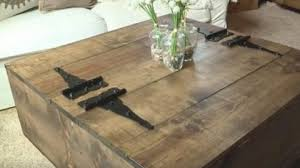 rustic coffee tables with storage