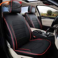 autodecorun pu leather car seat cushion