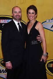 Adam Stevens, Aubrey Stevens - Adam Stevens and Aubrey Stevens Photos -  NASCAR Sprint Cup Series Awards - Red Carpet - Zimbio