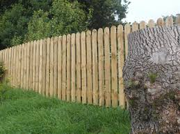 6ft X 6 X 7 8 Round Top Picket James Smith Fencing