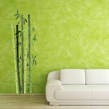 Style And Apply Bamboo Bushes Wall Decal Wayfair