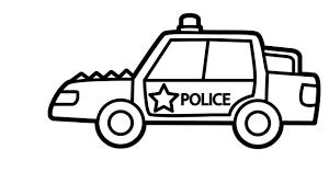 Bộ sưu tập tranh tô màu xe cảnh sát cho bé nuôi dưỡng ước mơ - Zicxa books