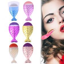 cosmetic makeup brush fishl bottom