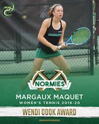 Normies: Freshmen Honored with Women's Tennis Awards - Charlotte ...
