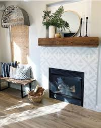 rustic fireplace wall log burner