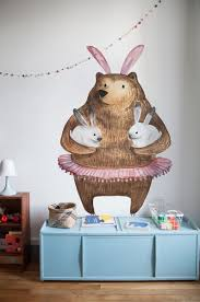 Bear And Bunnieswall Decals Coloraydecor Com