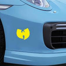 16 14 4cm Wu Tang Clan Hip Hop Bumper Sticker Decal Cool Graphics Vinyl Wrap Car Styling Car Accessories Car Sticker Car Stickers Aliexpress