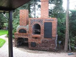 wood fired oven and smoker