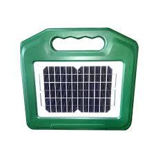 Solar Powered Fence Energiser 7km 4 4m Edwards Trailers