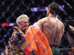 Conor McGregor praises Grandma Cerrone: 'She's a phenomenal ...