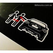 Love 86 Lust Girl Sticker Decal Toyota Ft86 Subaru Brz Scion Frs Fr S Street Fx Motorsport Graphics