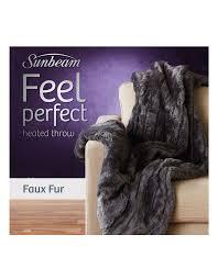 sunbeam feel perfect faux fur throw myer
