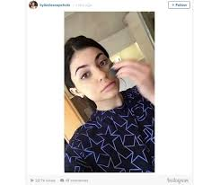 kylie jenner snapchatted her entire