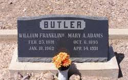 William Franklin Butler III (1891-1962) - Find A Grave Memorial