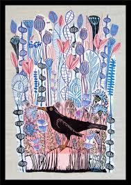 blackbird love art mariannjohansen ellis