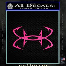 Under Armor Fishing Hooks Decal Sticker A1 Decals