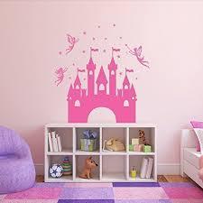 Princess Castle Wall Decals Vinyl Decor Wall Decal Customvinyldecor Com