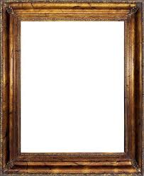 4 antique gold wood frame with