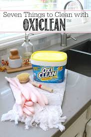 7 things to clean with oxiclean clean