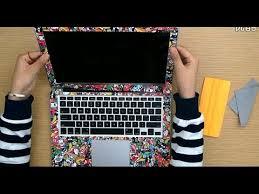 How To Make Custom Laptop Skin Sticker Youtube