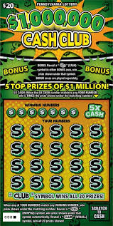 five new pa lottery scratch off games
