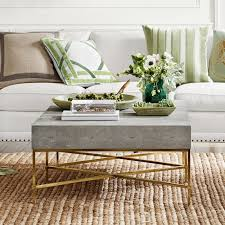 faux reen coffee table grey end