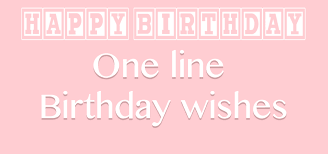 one line birthday wishes short quotes mauzee