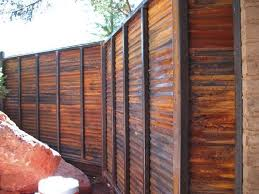 3 Easy Clever Ideas Fence Design Awesome Concrete Fence Small Yards Horizontal Fence Home Depot Wi Corrugated Metal Fence Metal Fence Panels Sheet Metal Fence