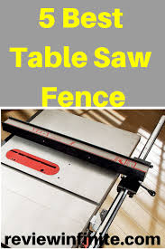 Best Aftermarket Table Saw Fence Feb 2020 Review Top Picks In 2020 Best Table Saw Table Saw Fence Table Saw